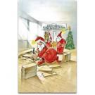 Bodenleger Weihnachtskarte