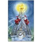 Dachdecker Weihnachtskarte