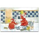 Fliesenleger Weihnachtskarte