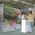 Pop Up Display Klett mit Promotion Counter