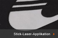 Stick-Laser-Applikation